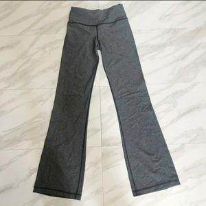 Lululemon gray heather flare yoga pants